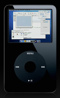 Learning content on iPod Video